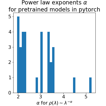 Power Laws in Deep Learning
